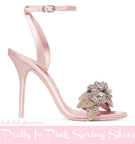 Think Pink, Think Spring! Discover the prettiest heels, sandals and flats for spring.