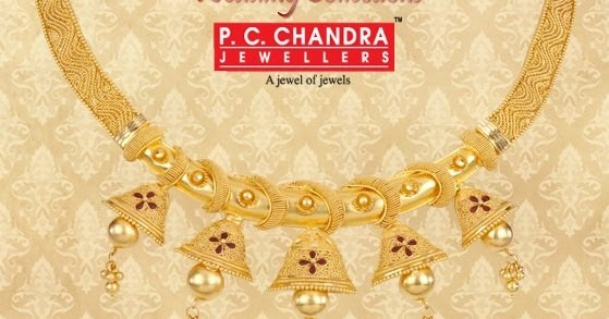 Pc Chandra Gold Wedding Choker Catalogue Latest