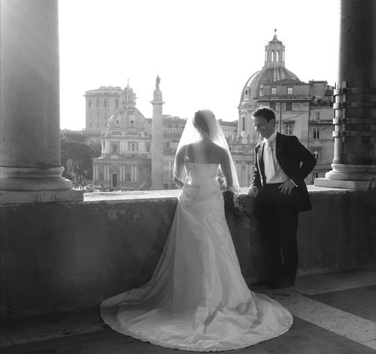 a sneek peek at our wedding that took place May 20 2007 in Rome Italy
