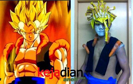 Gambar Meme Lucu Goku Supersaiyan