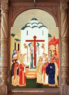 14 septembrie - Înălțarea Sfintei Cruci