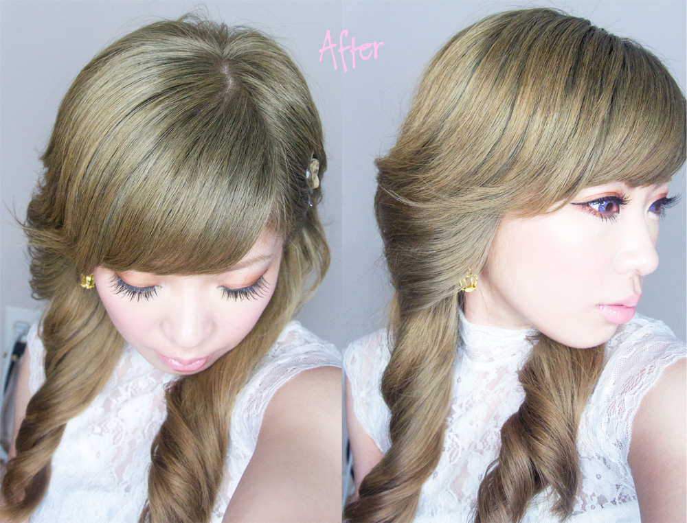 ekiBlog.com: Hair Bleaching and Light ash brown hair color