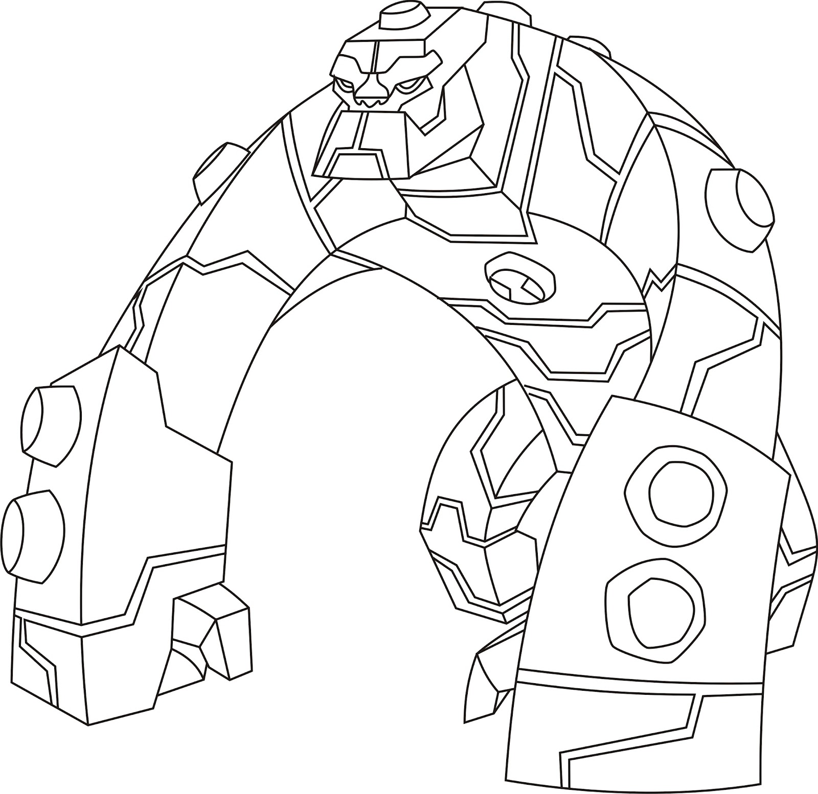 coloring pages ben 10 - photo#9