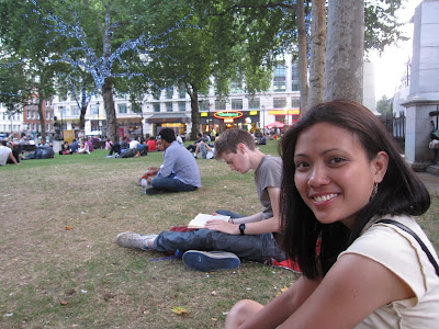 Leslie in Leicester Square