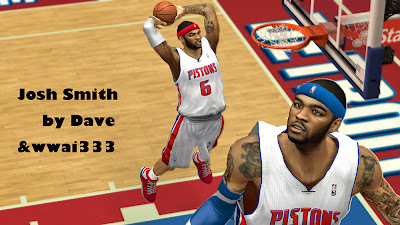 NBA 2K14 Josh Smith Cyberface Patch