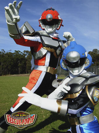 Vamos conhecer Australian Defenders of Earth Rescue Force