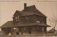 Train depot, Agenda, Kansas