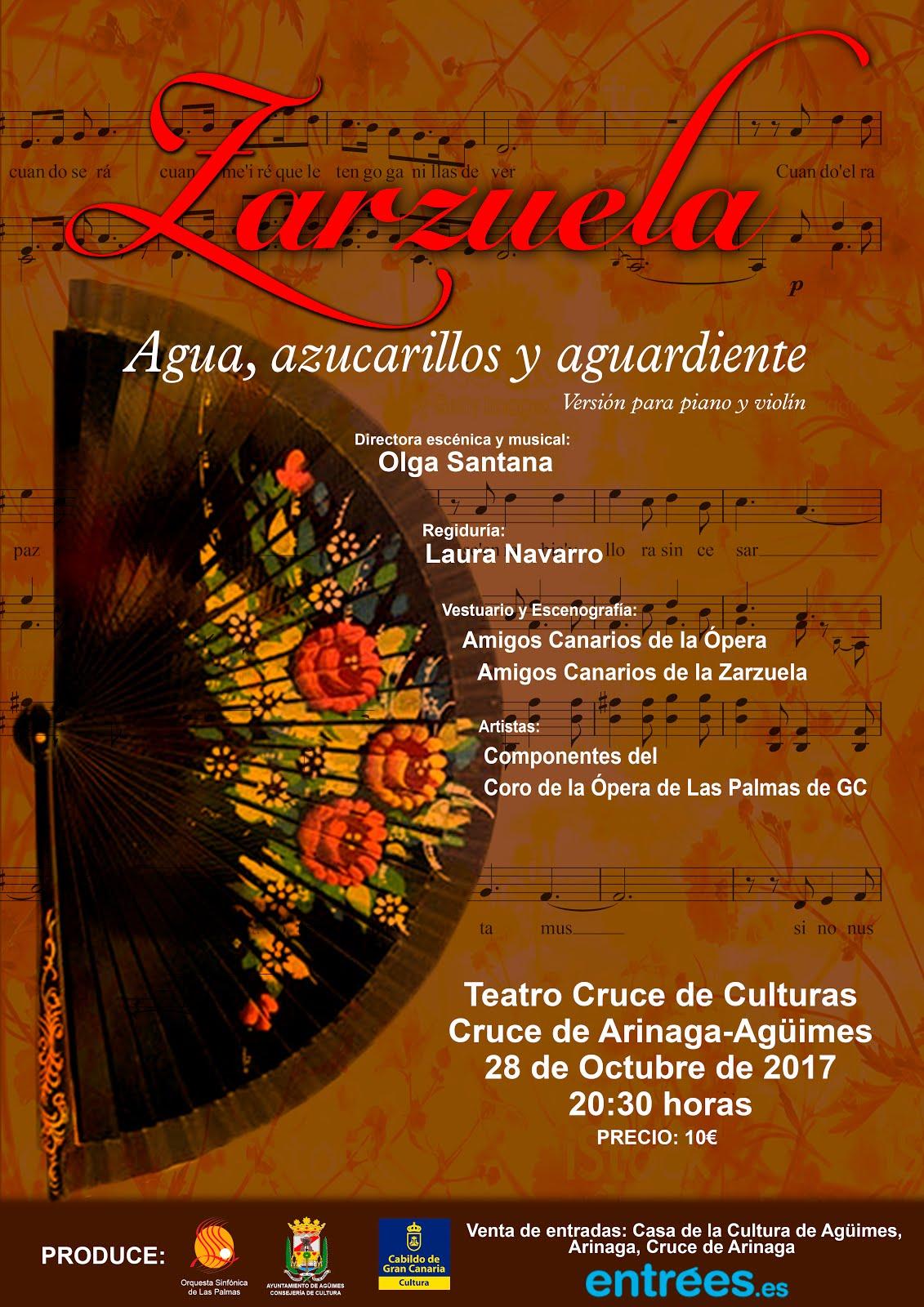 """OSLP: Zarzuela """"Agua, azucarillos y aguardiente"""""""
