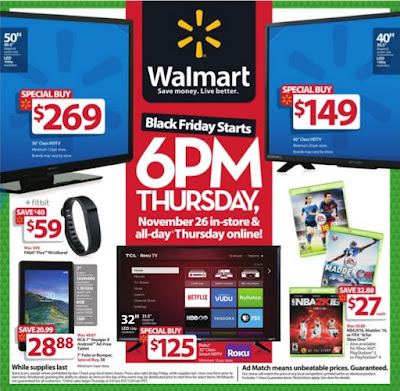 Walmart Black Friday Ad 2015 Page 1