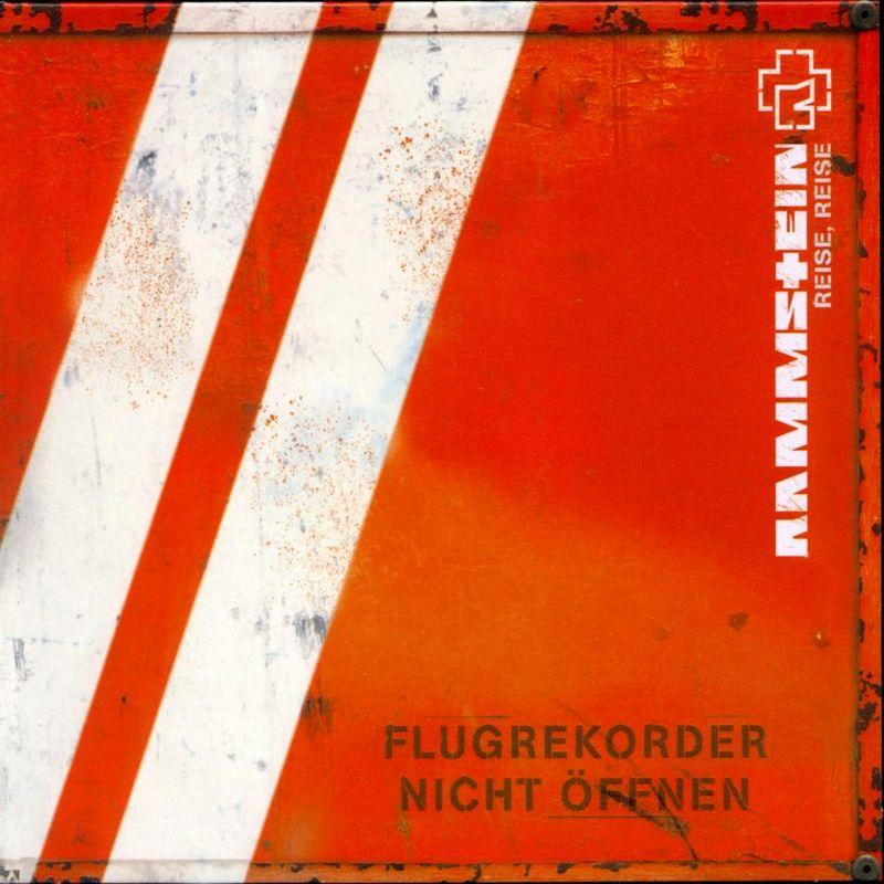 Imagen de la portada del album reise reise de la banda rammstein