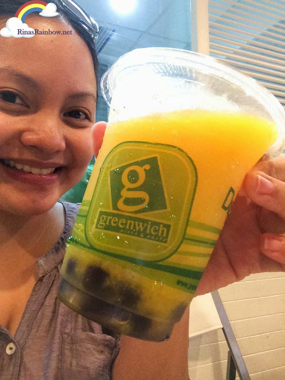 greenwich mango pearl cooler