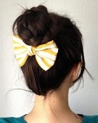 cepol rambut untuk pesta kasual