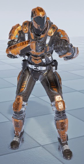 Character Design Unreal 4 : Shooter game tutorial next steep prototype assets