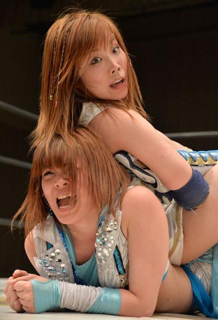 Kairi Hojo-japanese womens wrestling-japanese female wrestling