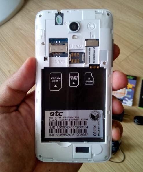 DTC Mobile GT17 Jupiter Regular SIM, Micro SIM and Micro SD Slots
