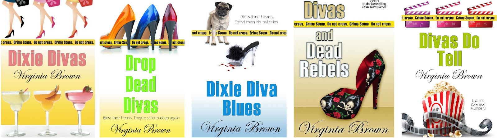 Check out the Depot Diva characters in mystery book form!