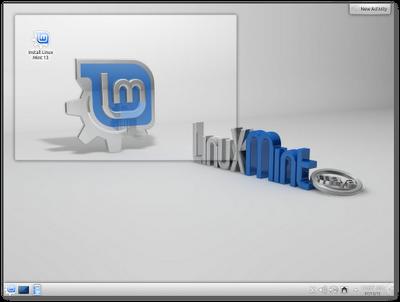 Linux Mint 13 KDE