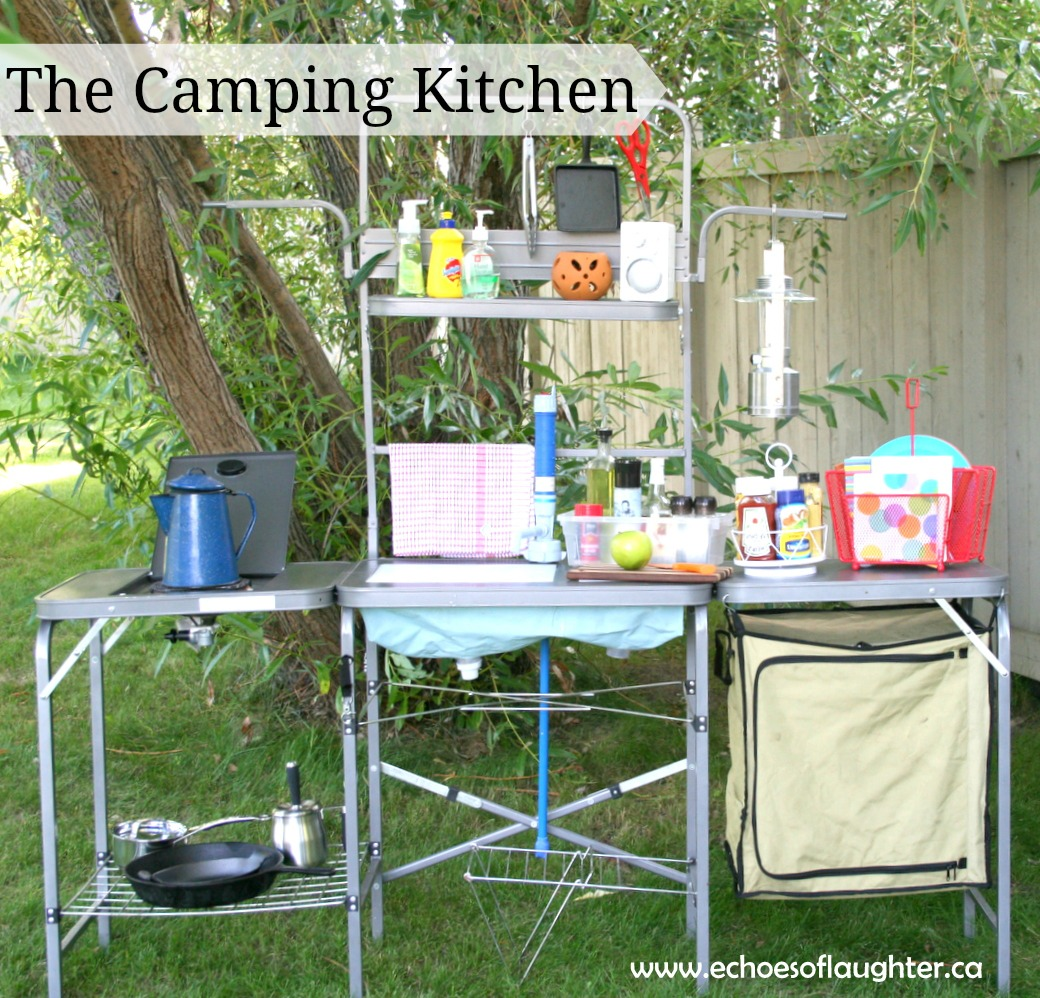 Camping Kitchen Charlys Room Organizing A Camping Kitchen