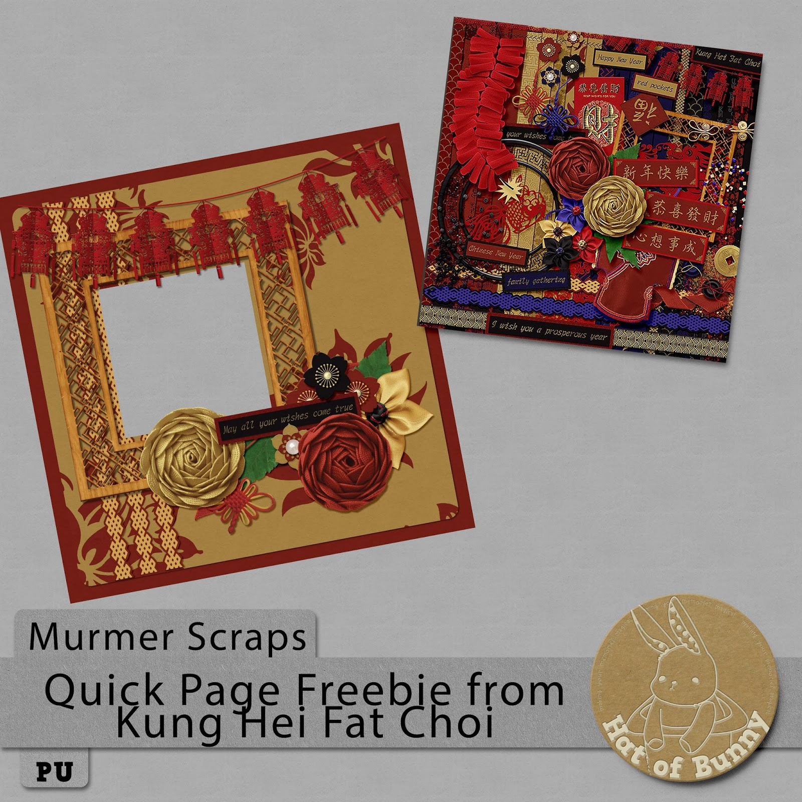 Happy Chinese New Year! New Release and Freebie!