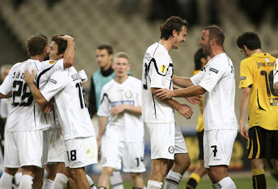 AEK Athens 1 - 2 Sturm Graz (2)