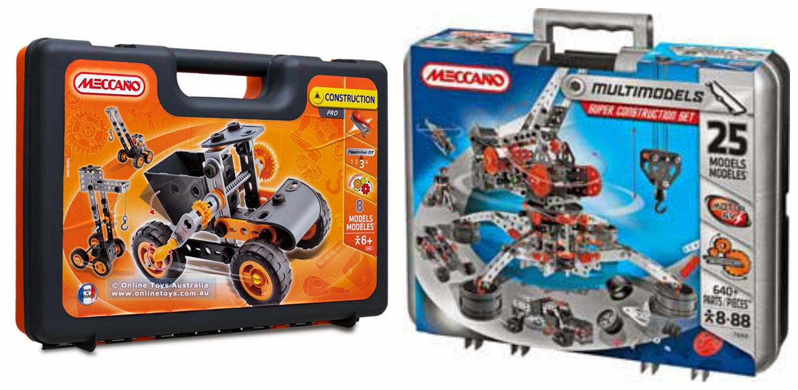 Meccano construction sets