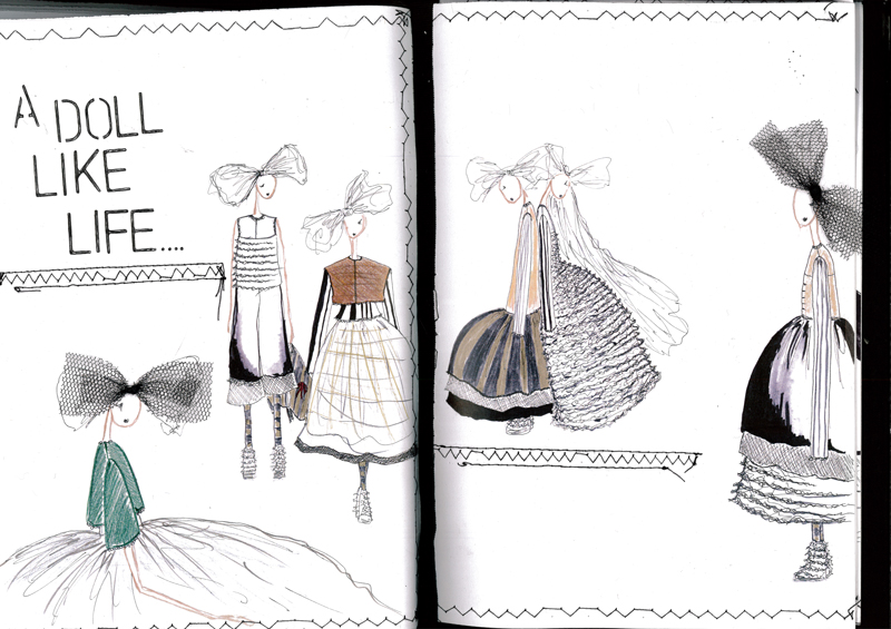 Maurice Connolly Graduate Fashion Week 2015  Portfolio