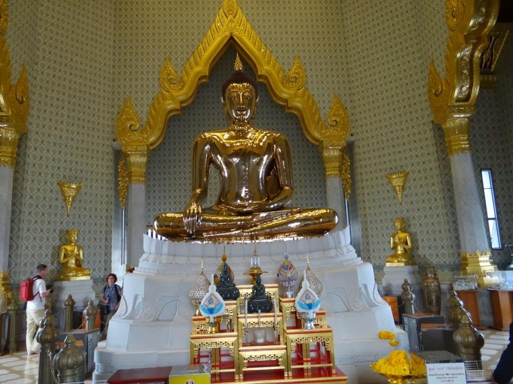 Świątynia Złotego Buddy - Bangkok