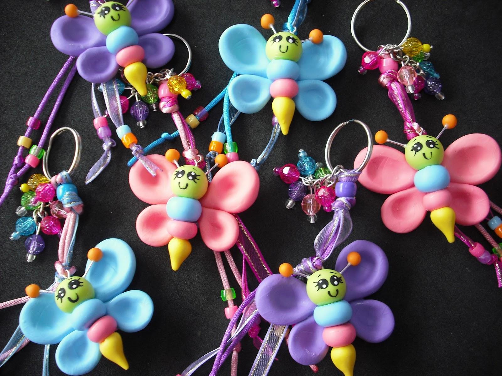 , boda, Monterrey: Recuerdo llavero de Mariposa en pasta francesa