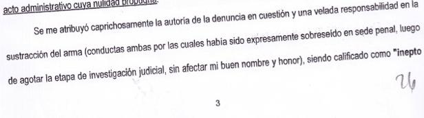 NO HAY DERECHO: LOS 26 RENGLONES DEL RECURSO EXTRAORDINARIO FEDERAL