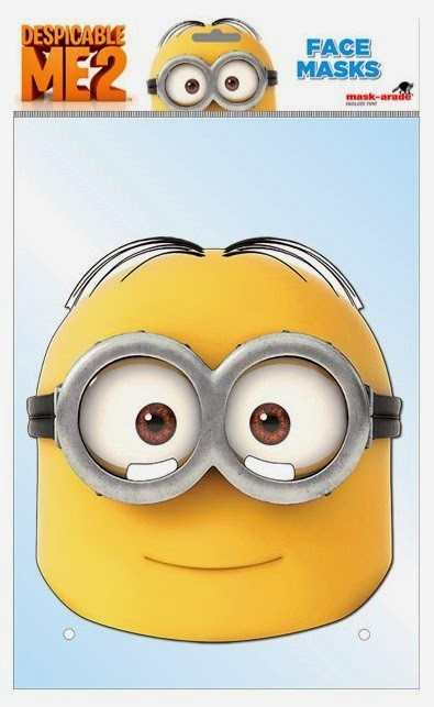 Opt for the face mask if you minion printables mask