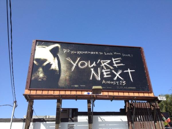 Youre Next movie billboard