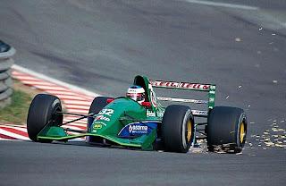 Jordan, equipe historica de Formula 1 de 1991 - blogdamilmilhas.blogspot.com