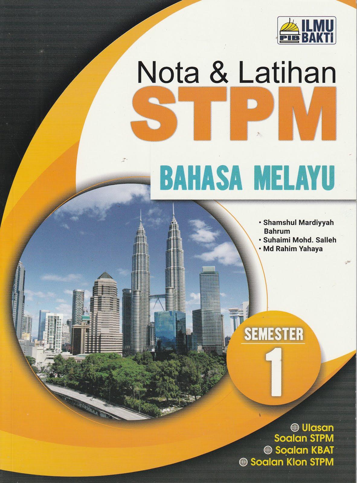 NOTA & LATIHAN STPM SEMESTER 1