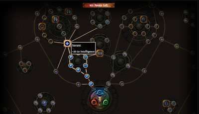 Official Path of Exile Skill Tree