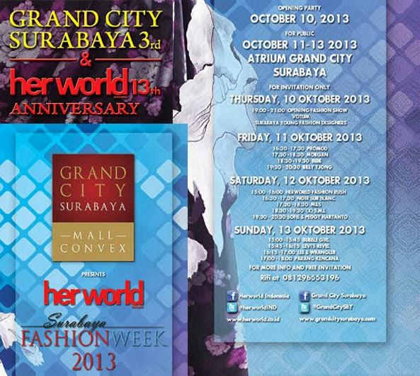 Surabaya Fashion Week 2013