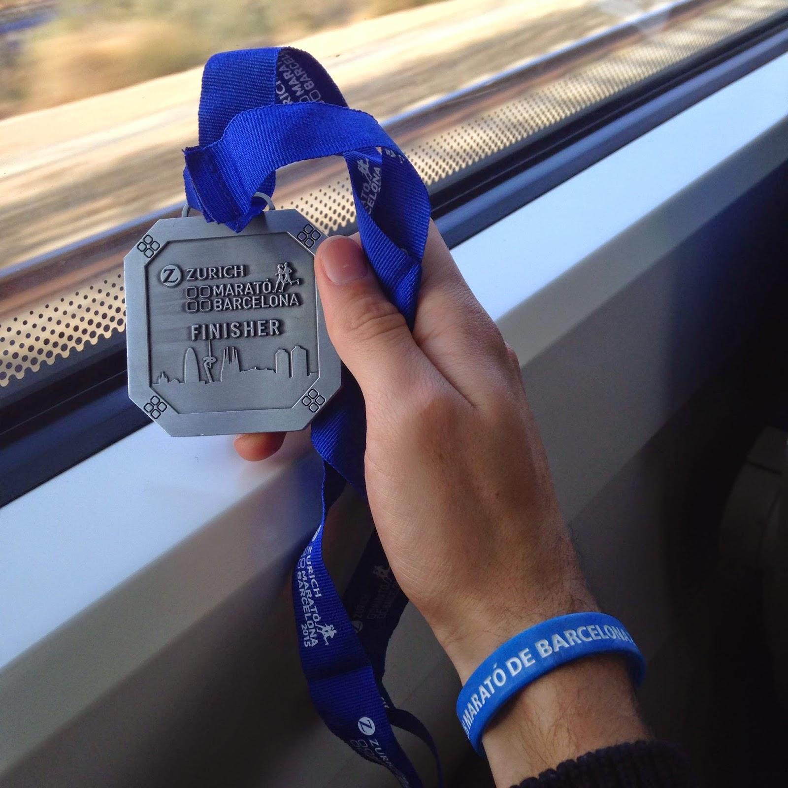 medalla zurich marato barcelona 2015