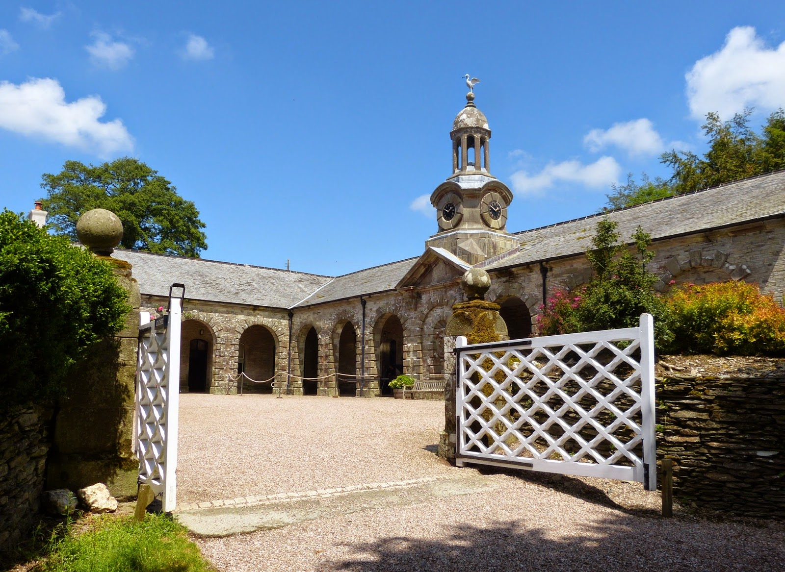 The stables, Arlington Court