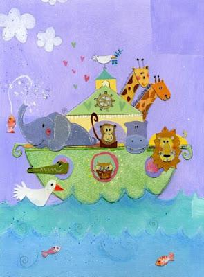 arca de noe decoraciones para niños y niñas