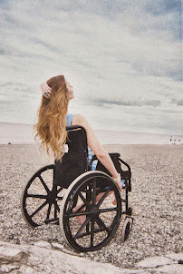 Click on image to see HAYLEY-ESZTI'S Visual Campaign for M. E. Awareness