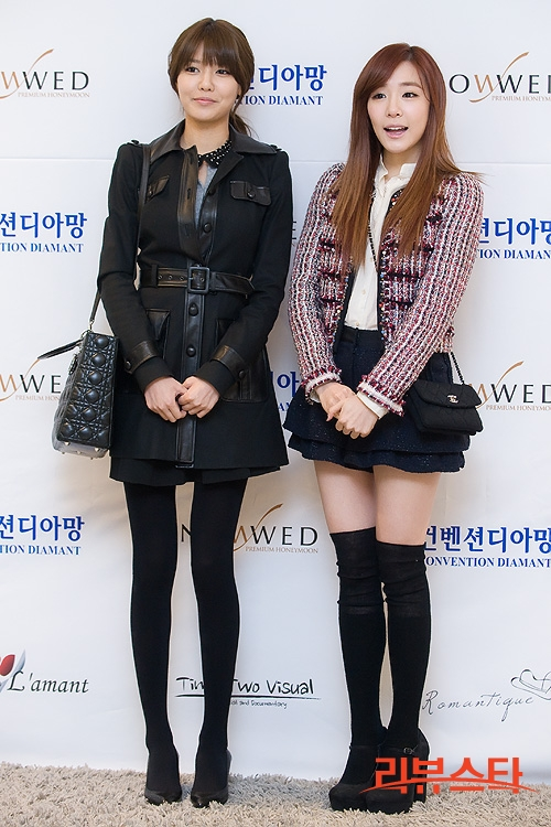 Sooyoung dan Tiffany SNSD Hadir di Pernikahan Hong Rok-gi 05