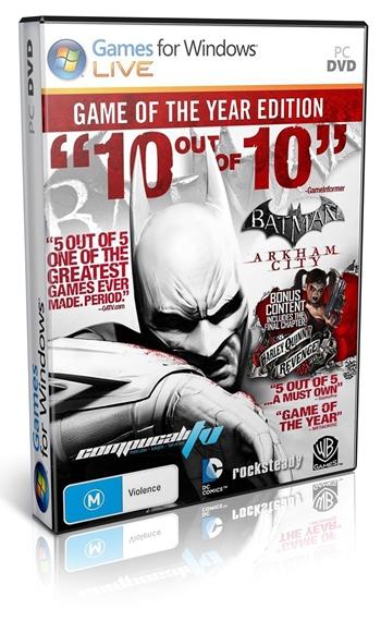 Batman Arkham City Game Of The Year Edition PC Español