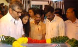 Ultimate Star Ajith Kumar and Shalini Ajithkumar Pay Homage to Tamil poet Vaali