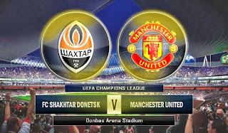 Shakhtar Donetsk vs Manchester United