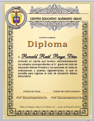 Diplomas Bienvenida A La Primaria | MEJOR CONJUNTO DE FRASES