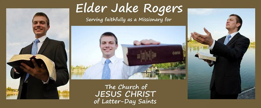 Elder Jake Rogers: Missionary
