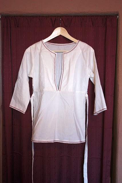 Sew Liberated Schoolhouse Tunic Muslin Front