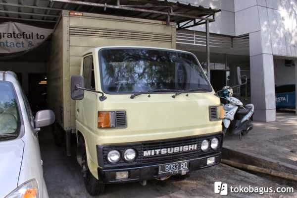 Truck Box Mitsubishi 100 Ps Ban Dobel 1992 - Truck Bekas ...
