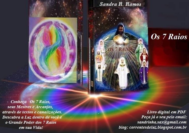 Livro Os 7 raios   de Sandra Ramos