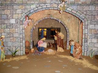 Nacimiento en la Catedral de Sevilla