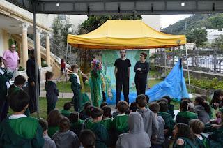 Após a peça, os alunos fizeram um debate, com perguntas e sugestões sobre a preservação do meio ambiente